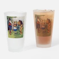 The Lion and The Unicorn Drinking Glass