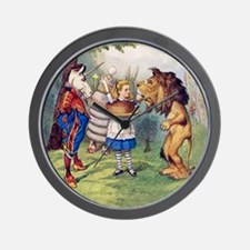 The Lion and The Unicorn Wall Clock