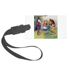 The Lion and The Unicorn Luggage Tag