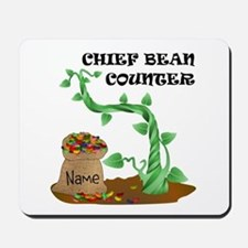 Chief Bean Counter Mousepad