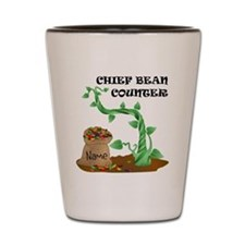 Chief Bean Counter Shot Glass