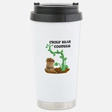 Chief Bean Counter Travel Mug