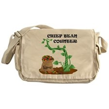 Chief Bean Counter Messenger Bag