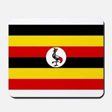 Uganda - National Flag - Current Mousepad