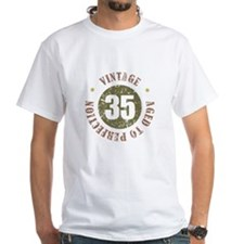 35th Vintage birthday Shirt