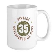 35th Vintage birthday Mug