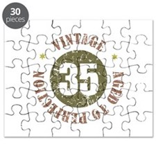 35th Vintage birthday Puzzle