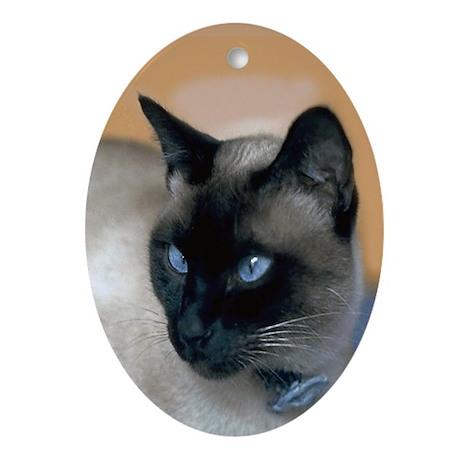 Siamese Ornament oval Ornament (Oval)