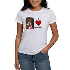 I LOVE FOOTBALL Tee