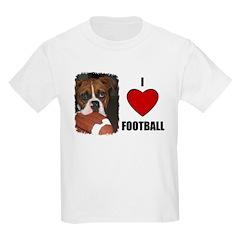I LOVE FOOTBALL Kids T-Shirt