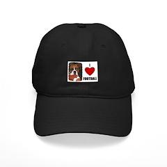 I LOVE FOOTBALL Black Cap