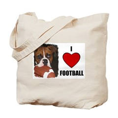 I LOVE FOOTBALL Tote Bag
