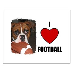 I LOVE FOOTBALL Posters