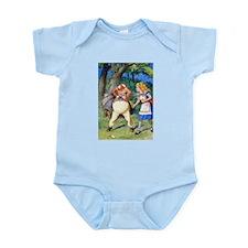 Alice and Tweedle Dum Infant Bodysuit