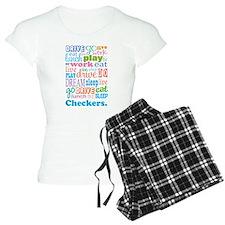 Checkers Pajamas