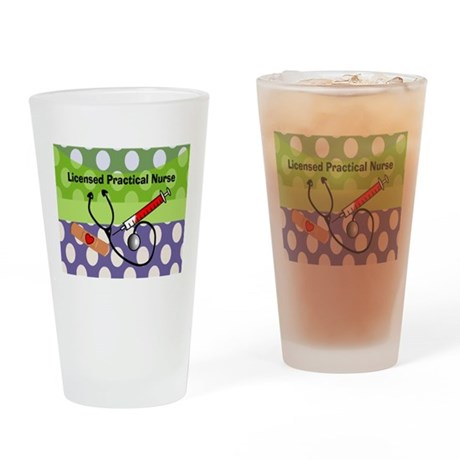 LPN tote.PNG Drinking Glass