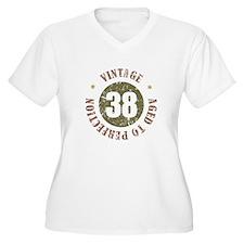 38th Vintage birthday T-Shirt
