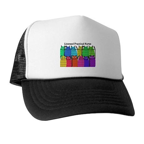 LPN cats.PNG Trucker Hat