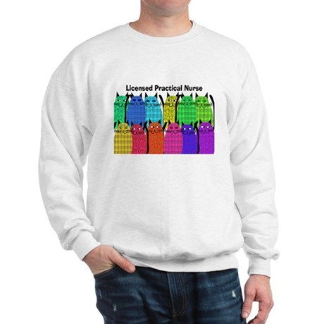 LPN cats.PNG Sweatshirt