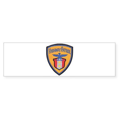 Highway Patrol Bumper Sticker