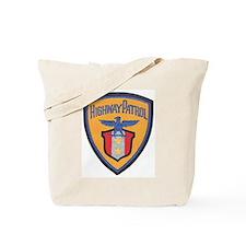 Highway Patrol Tote Bag