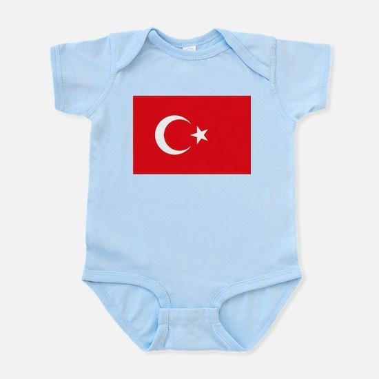 Turkey - National Flag - Current Infant Bodysuit