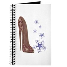 Snowflake Stiletto Shoe Art Journal