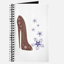 Snowflake Stiletto Shoe Art Journal