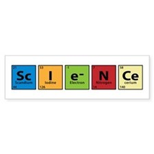 science.png Car Sticker