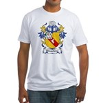 Clogstoun Coat of Arms Fitted T-Shirt