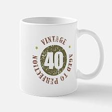 40th Vintage birthday Mug