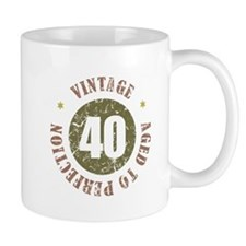 40th Vintage birthday Mug