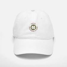40th Vintage birthday Baseball Baseball Cap