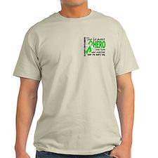 Bravest Hero I Knew NH Lymphoma T-Shirt