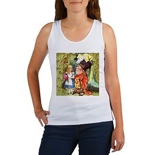 Alice and the Duchess Play Croquet Women's Tank To
