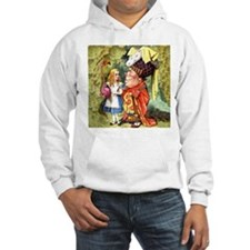 Alice and the Duchess Play Croquet Hoodie
