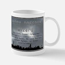 Harry Dresden Business Card Mug