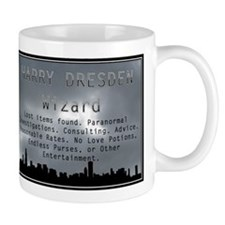 Harry Dresden Business Card Mug
