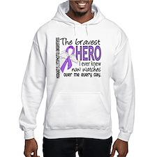 Bravest Hero I Knew H Lymphoma Hoodie