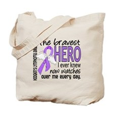 Bravest Hero I Knew H Lymphoma Tote Bag