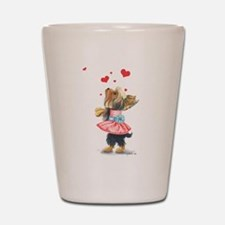 Love without ends Shot Glass