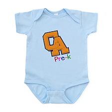 CA Pre-K Teacher Infant Bodysuit