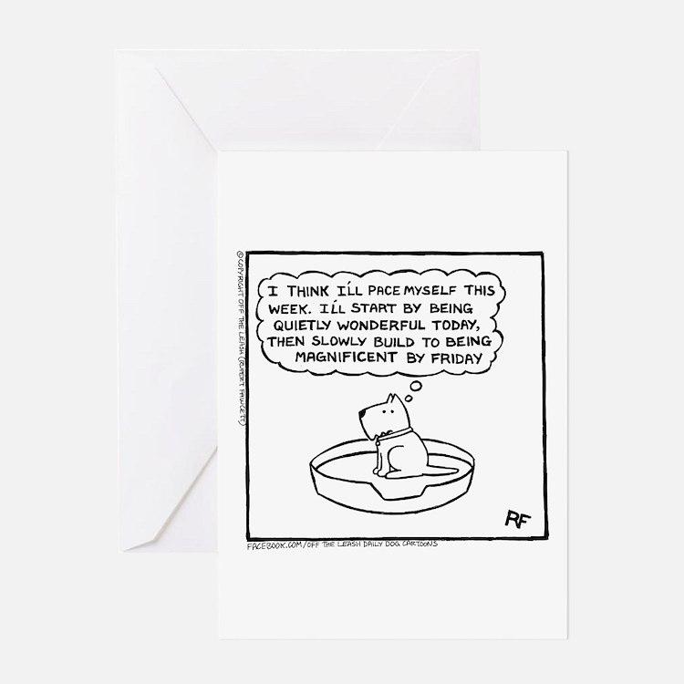 Quietly Wonderful Greeting Card