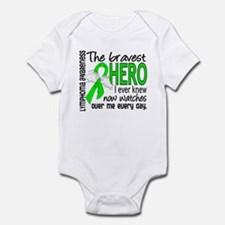 Bravest Hero I Knew Lymphoma Infant Bodysuit