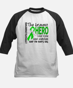 Bravest Hero I Knew Lymphoma Tee