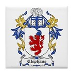 Clephane Coat of Arms Tile Coaster