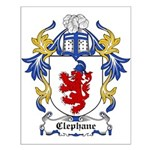 Clephane Coat of Arms Small Poster