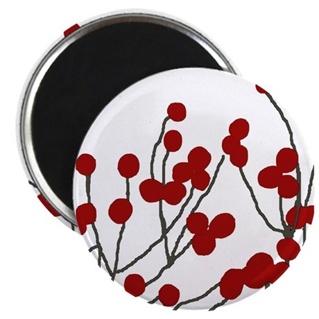 "winterberries 2.25"" Magnet (10 pack)"