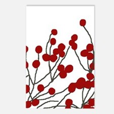 winterberries Blank Postcards (Package of 8)