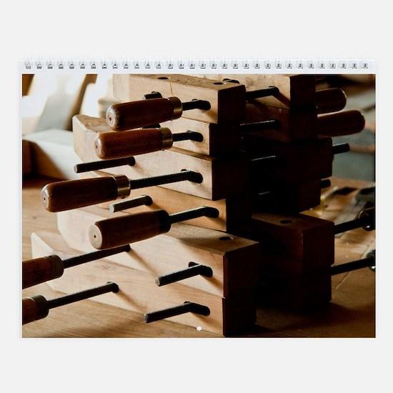 Classic Tools Wall Calendar
